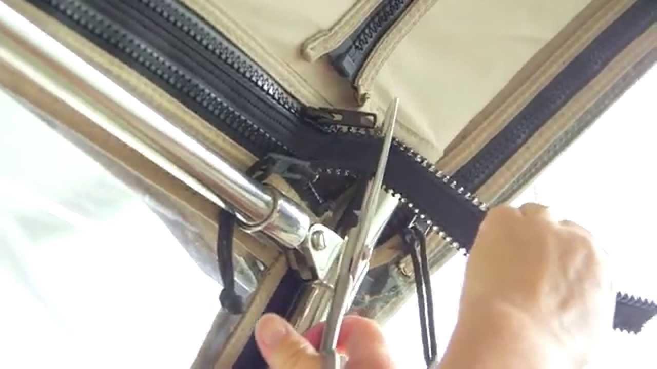 Ez Xtend Boat Zipper Youtube