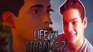 Обзор (смотрим) трейлер 1 эпизода Life is Strange 2 -- Новая Душераздирающая История