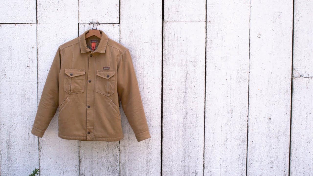 Patagonia Men S Iron Forge Hemp Canvas Ranch Jacket Youtube