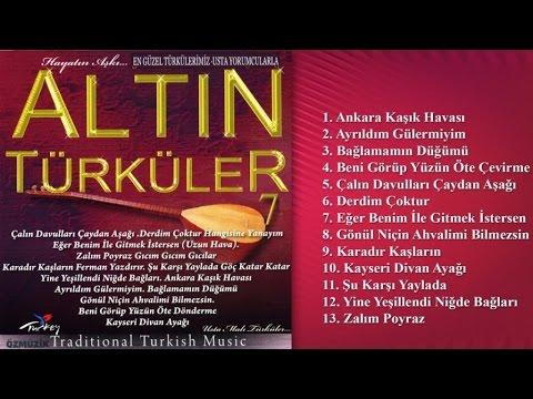 Altın Türküler 7 - En Güzel Türkülerimiz- Usta Yorumcularla
