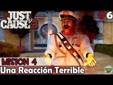 Just Cause 3 | Una Reaccion Terrible | Mision 4 | En PC Español Sin Comentarios 1080p 60fps