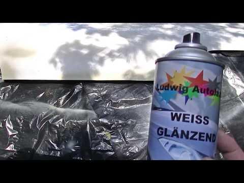 "1a  ""The car hood""  amateur spray can paint job  done outside"