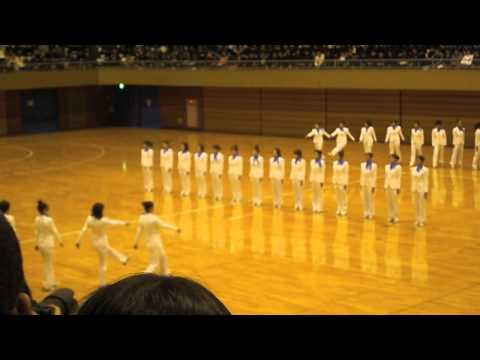 日本体育大学の集団行動—Nippon Sport Science University—Synchronized Walking