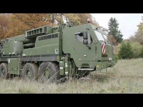 Liebherr - G-BKF armoured rescue crane