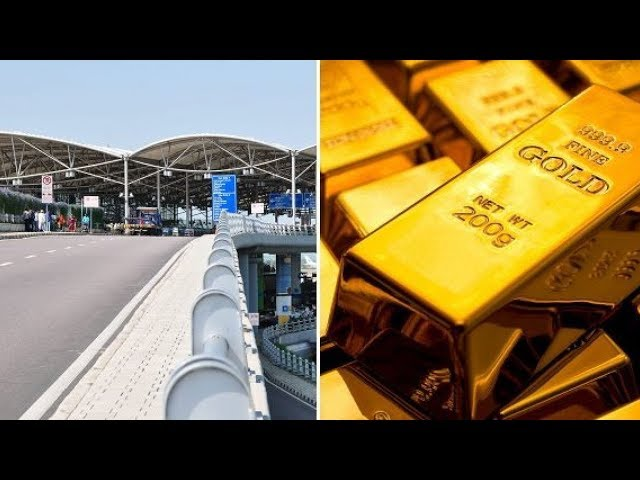 11.1 Kgs Illegal Gold Caught In Shamshabad airport