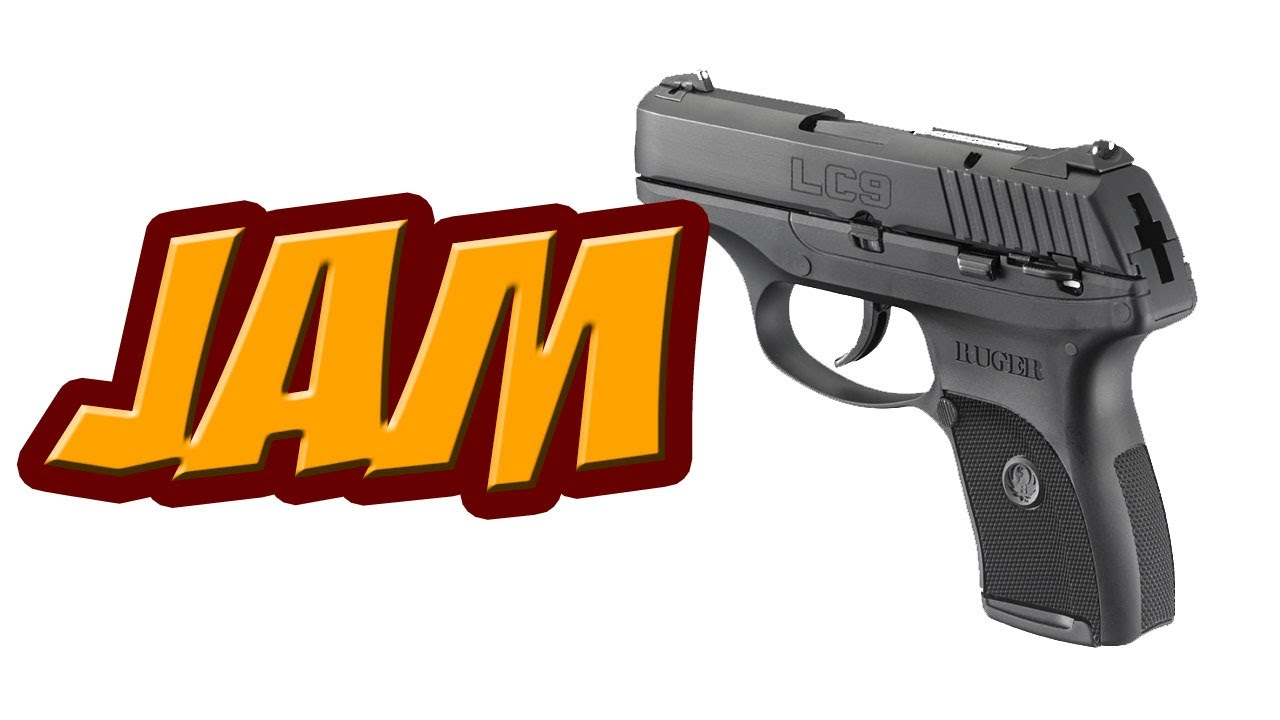 Ruger LC9 Manual Feed Jam Issues - YouTube