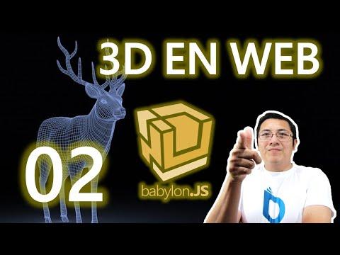 02.- Curso babylon.js y webgl (Rápido):Elementos básicos