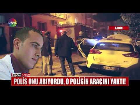 Polis Onu Arıyordu, O Polisin Aracını Yaktı!