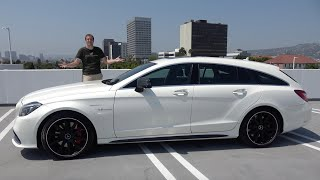 homepage tile video photo for The Mercedes CLS63 AMG Shooting Brake Is the Coolest Unknown Wagon