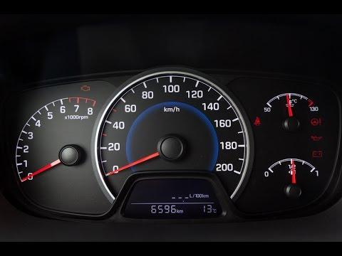 Hyundai i10 1.25 MPI 87 KM acceleration 0 160 km h