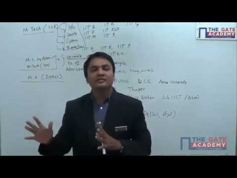 Computer Science Engineering Video | Post GATE Guidance for M.Tech in IIT/NIT & PSU jobs