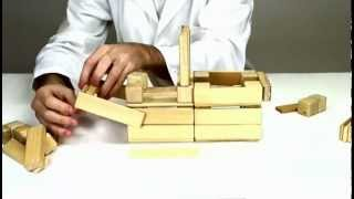 Magnetic Wooden Toys From Tegu - Building A Paddle Boat