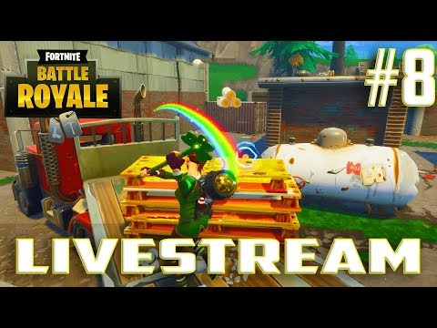Fortnite Battle Royale(Solo PS4 Gameplay)Livestream#8-New Luck Of The Irish Update,Supply Llama's,C4