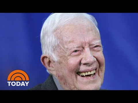 Jimmy Carter Back In Hospital, Treated For Urinary Tract Infection | TODAY