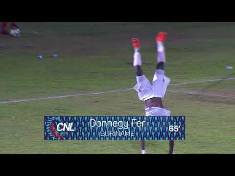 CNL 2018: SURINAME vs BRITISH VIRGIN ISLANDS Highlight
