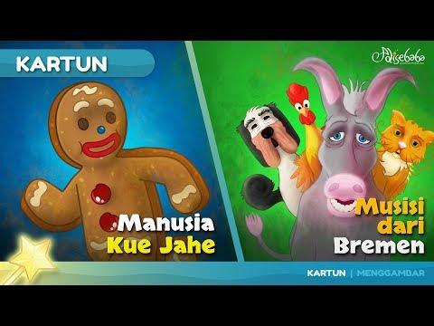 Manusia Kue Jahe cerita anak anak animasi kartun
