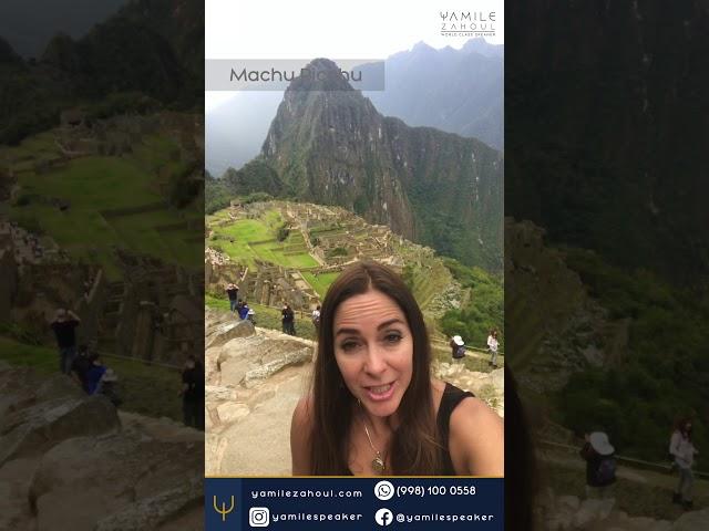 Yamile Zahoul   Machu Picchu 3