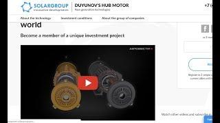 #DUYNOV2020,«Двигатели Дуюнова»: как заработать на прорывной технологии из Рос/ «СовЭлМаш»./  News !