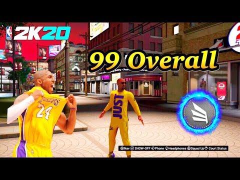 NBA 2K20 JUST HIT 99 OVERALL 2-WAY SLASHING PLAYMAKER SG!
