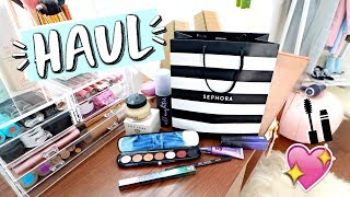 Sephora Haul! I Bought Makeup Because of MannyMua!!