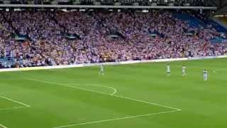 Leeds United, Marching on Together entrance, vs Burnley 2015/2016