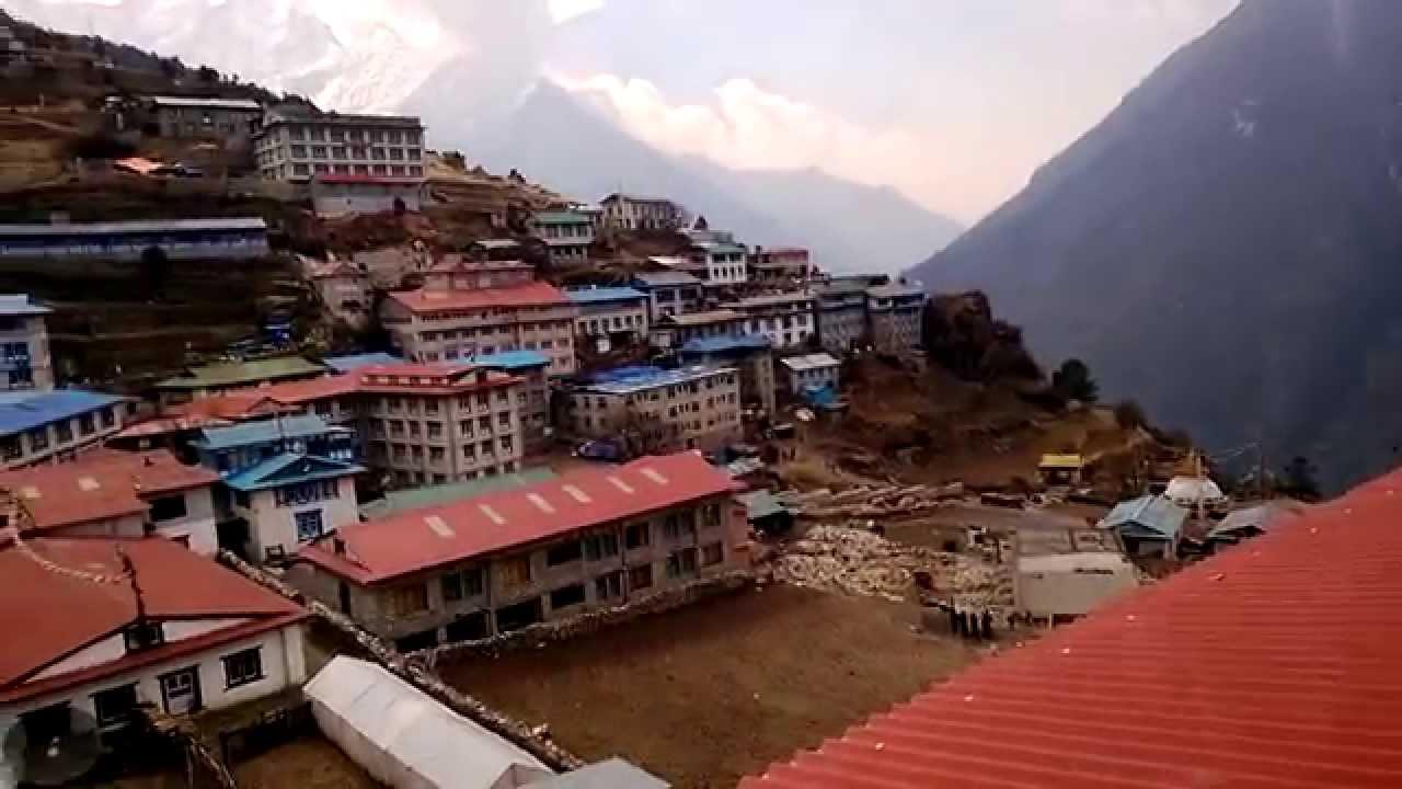 Namche Bazaar, Nepal - YouTube