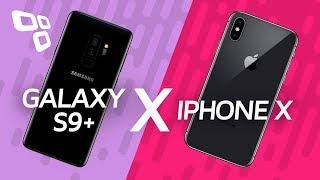 Samsung Galaxy S9+ vs. iPhone X - Qual vale mais a pena? - Comparativo - TecMundo