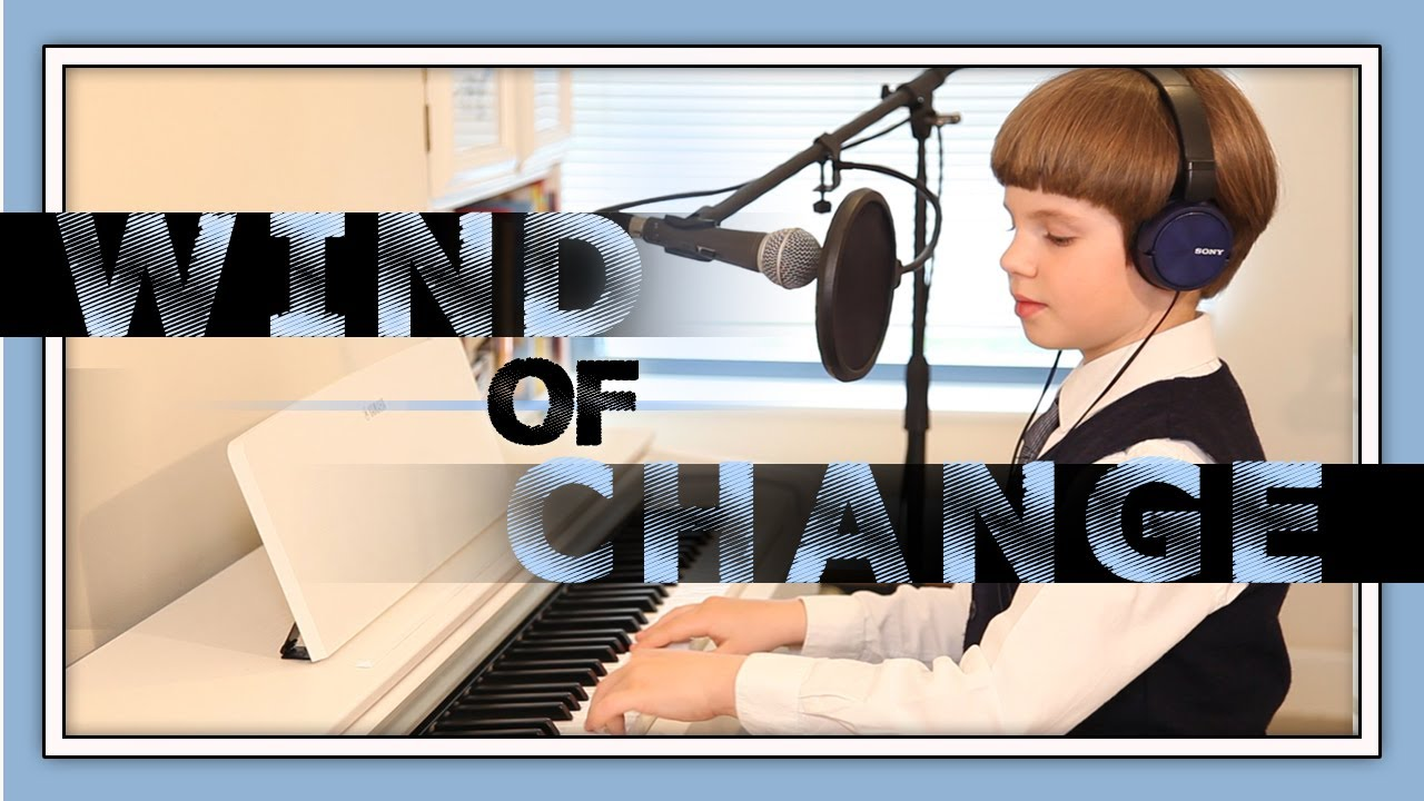 Wind of Change - SCORPIONS cover by Olivier (10 years old).