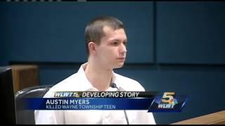 Austin Myers addresses jury in sentencing phase of capital murder case