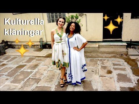 Följ med och shoppa Etiopiska kultur klänningar