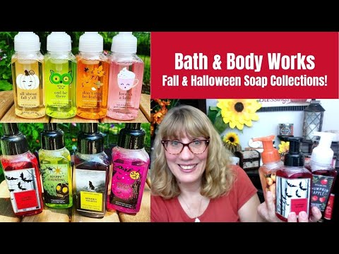 Bath & Body Works Fall & Halloween Soap Collections!