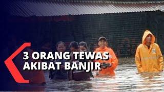 Tiga Orang Tewas Akibat Banjir Awal Tahun di Jadetabek
