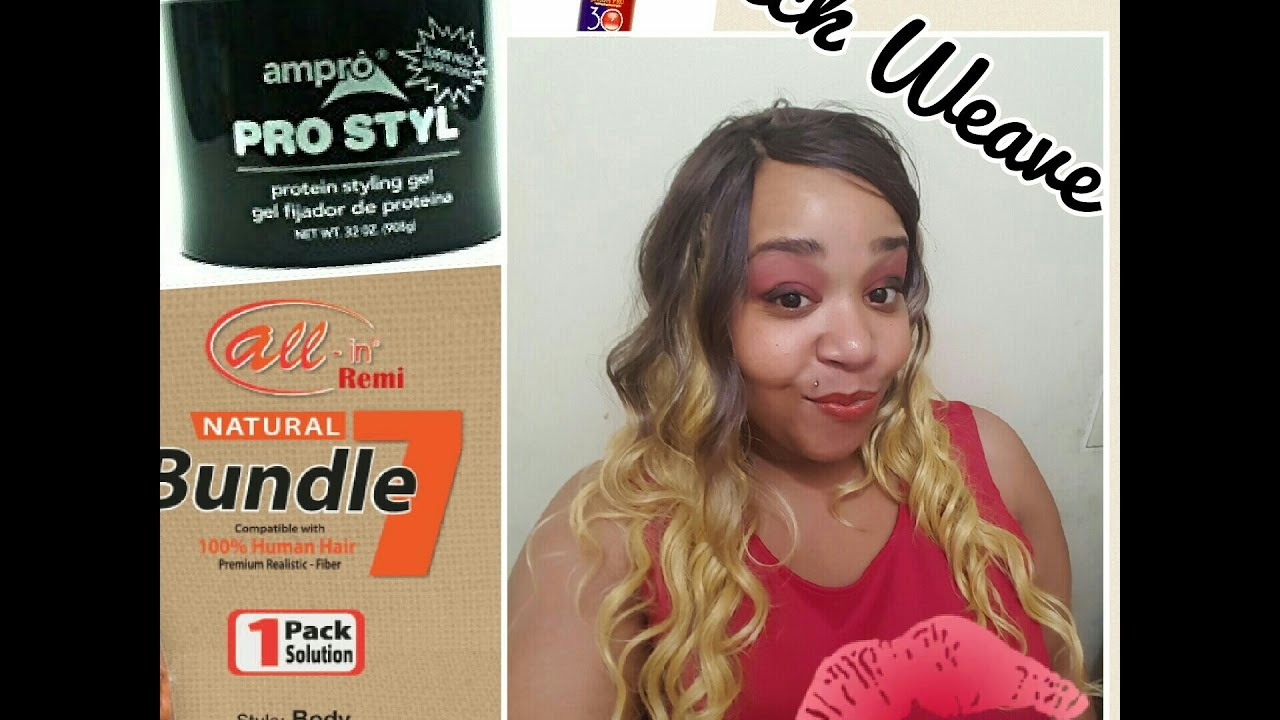 Protective style quick weave on natural hair youtube protective style quick weave on natural hair pmusecretfo Images
