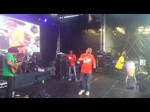 Finley Quaye.   Africa Oye 2014 ,,,backstage pass