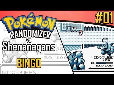 Pokemon Randomizer Bingo vs. Shenanagans #1