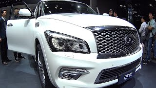 2016, 2017 Larte Design Infiniti QX80 Missuro, 2016, 2017 Infiniti QX80 is an old school SUV
