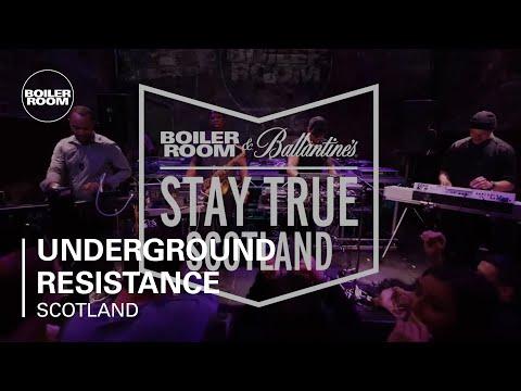 Underground Resistance Presents Timeline   Boiler Room & Ballantine s Stay True Scotland Live Set