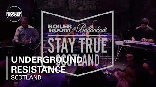 Underground Resistance Presents Timeline | Boiler Room & Ballantine