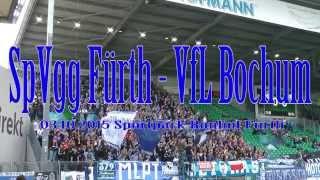 SpVgg Greuther Fürth - VfL Bochum 3.10.2015 Auswärtssieg