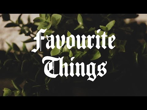 FAVOURITE THINGS - Trinkets
