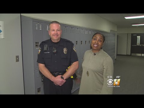 School Resource Officer Saves Choking Counselor's Life