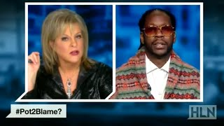 Legalize Weed?! NANCY GRACE vs. 2 CHAINZ | What's Trending Now