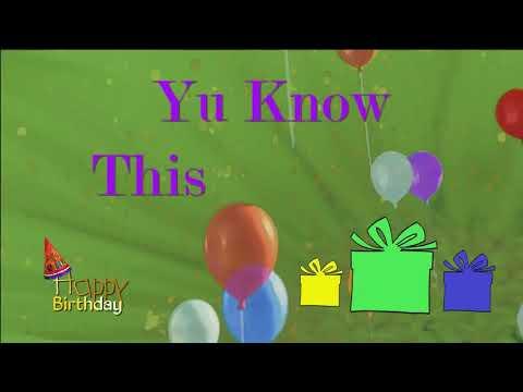 Happy Birthday Kimberly Personalized Caribbean Song