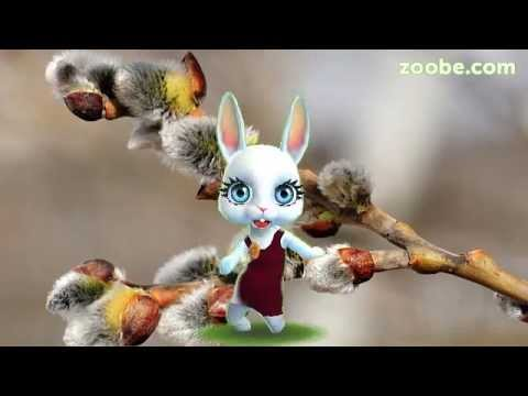 Zoobe Зайка Поздравление с вербным воскресеньем - Поиск видео на компьютер, мобильный, android, ios