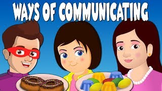 Communication for kids with Jazy and Zaira | Hindi Moral Kids stories Learning video