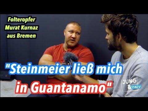 """""""Steinmeier ließ mich in Guantanamo verhören"""" - Murat Kurnaz"""