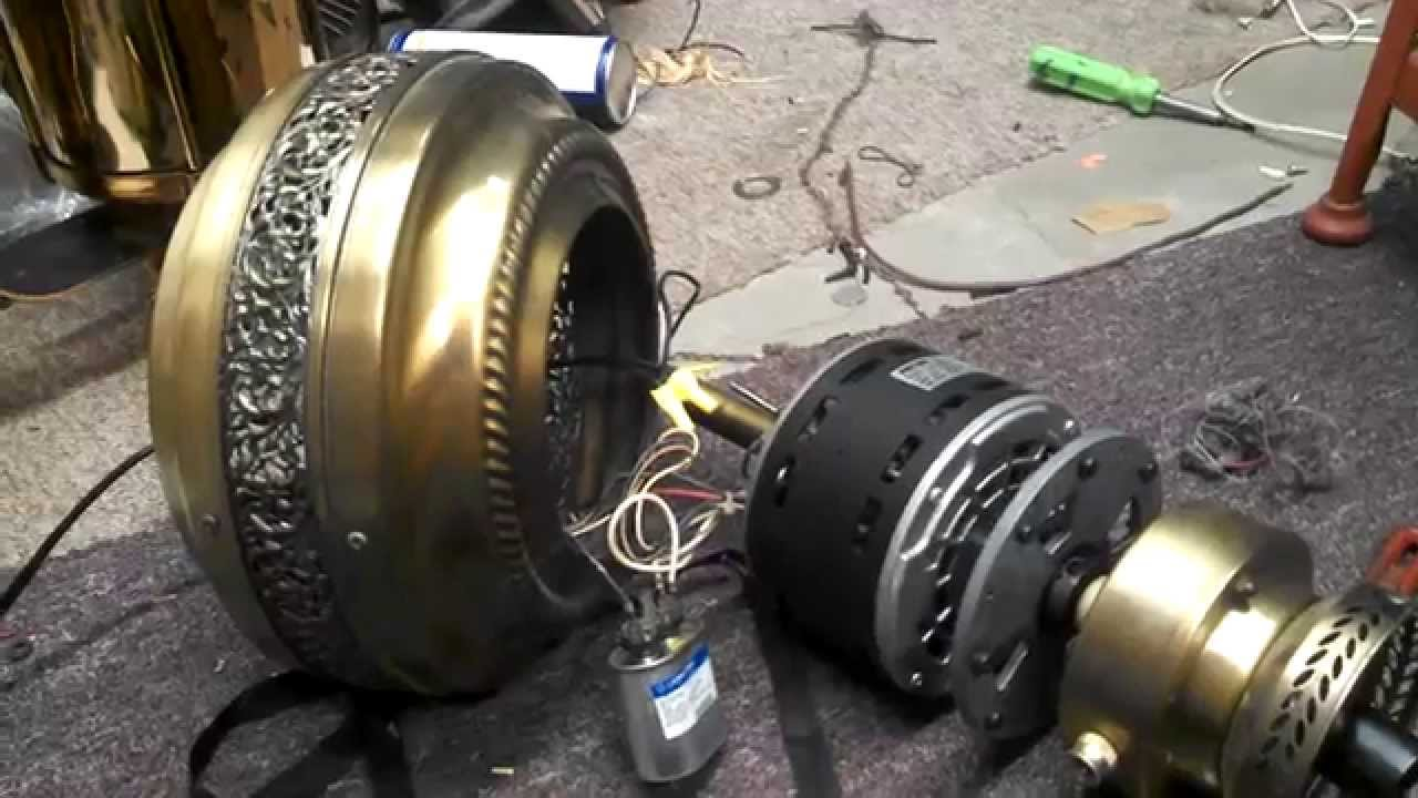 Patton Ceiling Fan Motor With Failed Capacitor Part 3