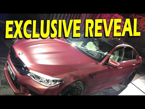 2018 BMW M5 Coupe Reveal at Gamescom