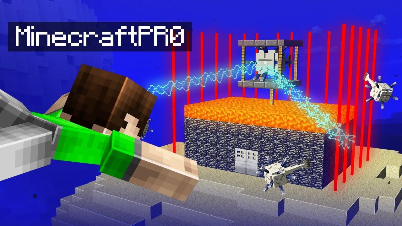 7 Ways To BREAK IN to _MinecraftPr0_'s Base in Minecraft!