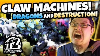 How to train your Dragons in the Claw Machine! Arcade fun at iT'z Family Food and Fun!